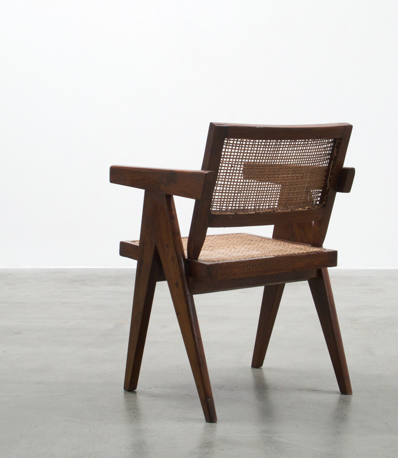 Pierre Jeanneret Arm chair Chandigarh India img 5