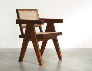 Pierre Jeanneret Armchair Chandigarh India 1955