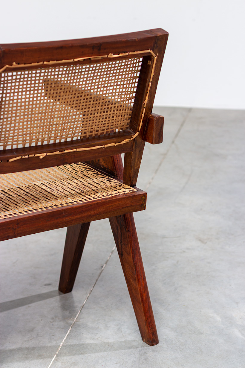 Pierre Jeanneret Armchair or office chair Chandigarh India 1950 img 5
