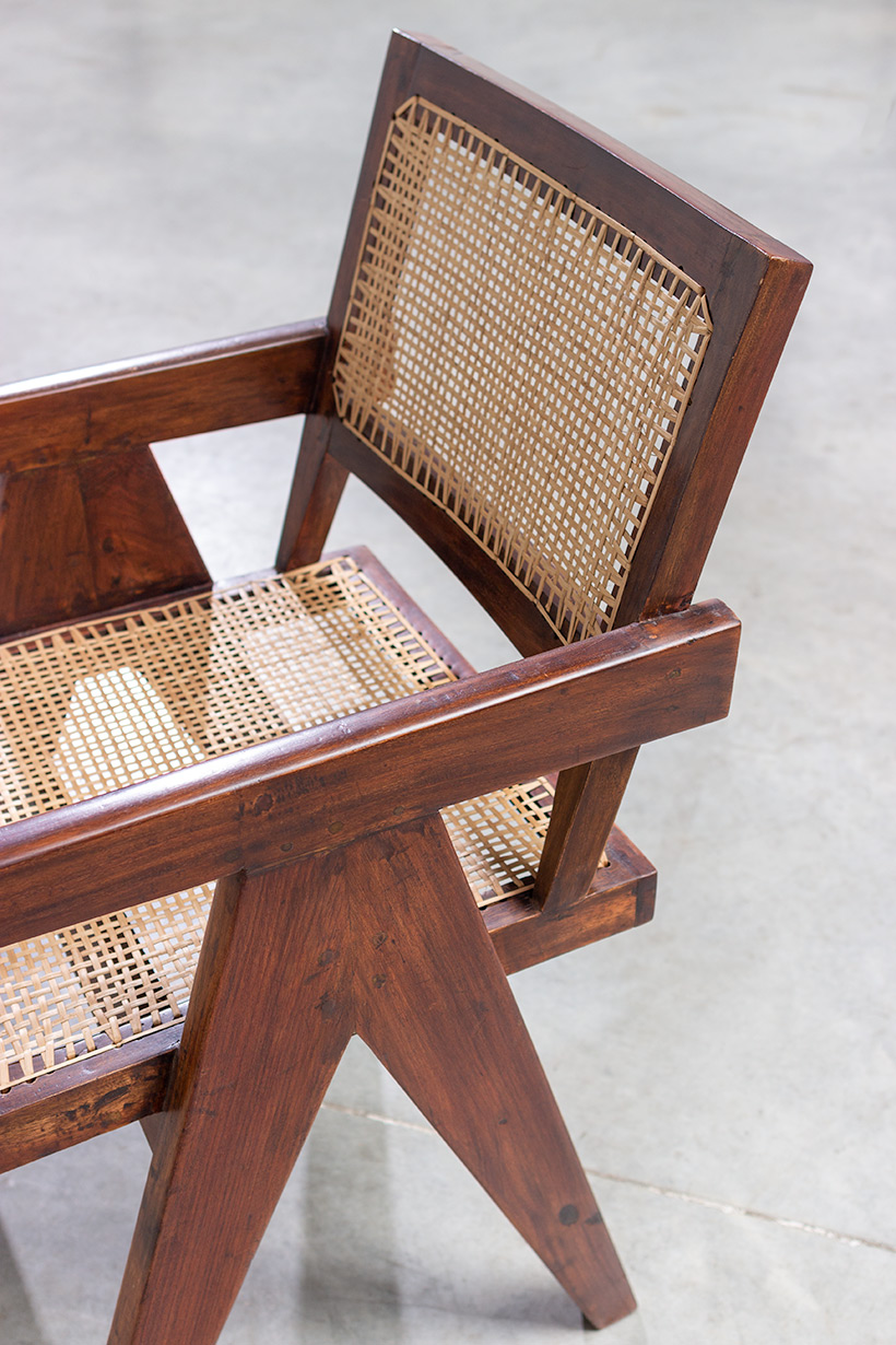 Pierre Jeanneret Armchair or office chair Chandigarh India 1950 img 6