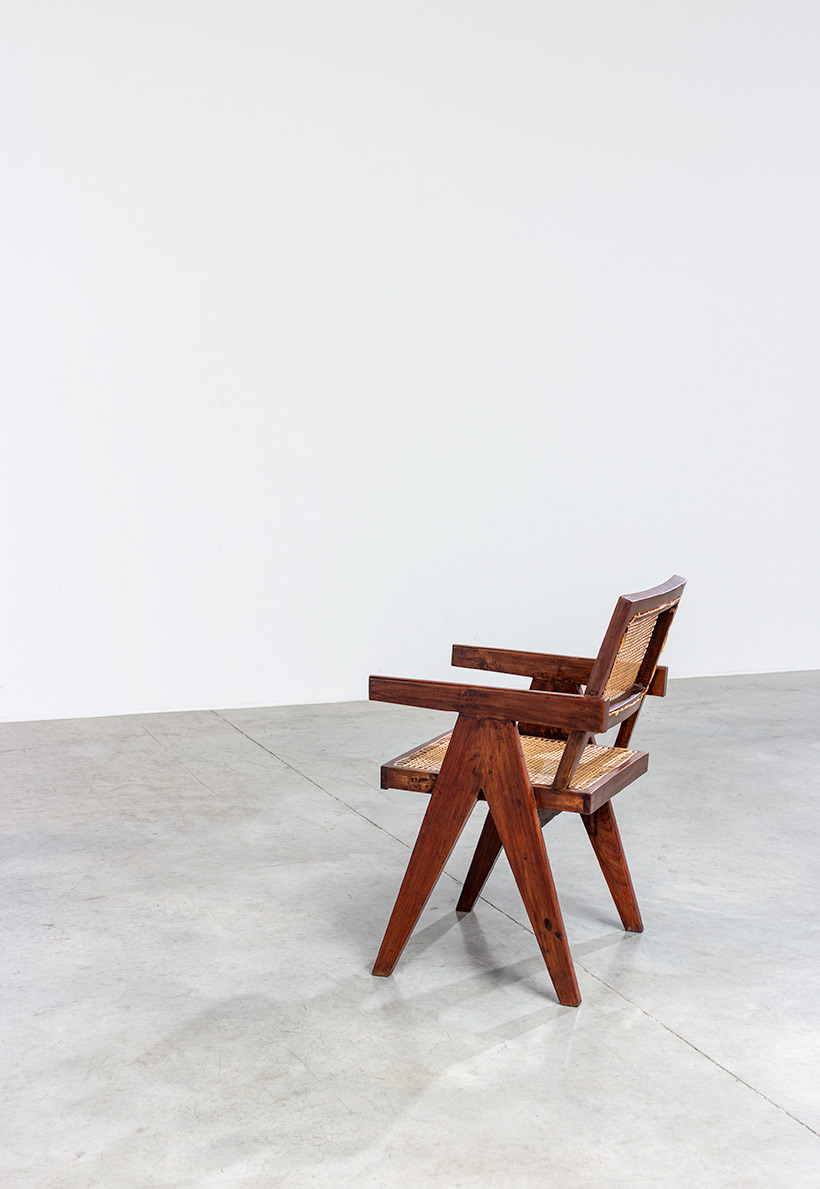 Pierre Jeanneret Armchair or office chair Chandigarh India 1950 img 7
