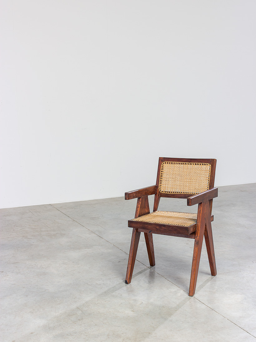 Pierre Jeanneret Armchair or office chair Chandigarh India 1950 img 8