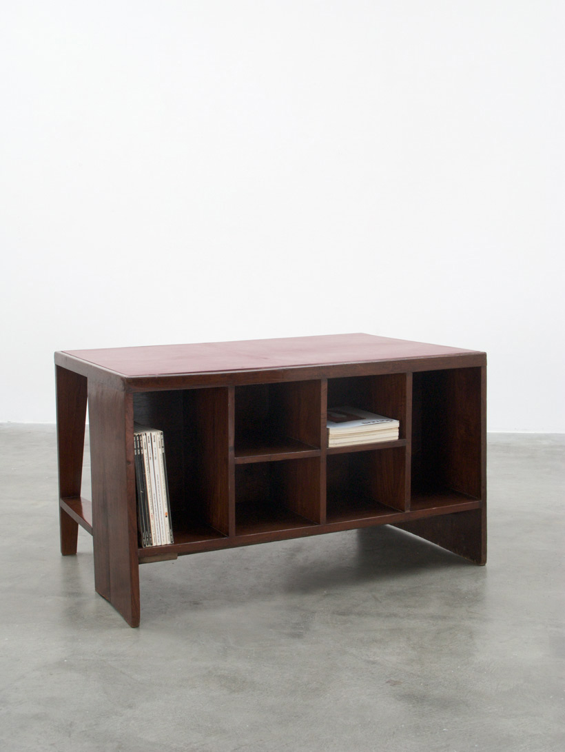 Pierre Jeanneret Office Desk with Bookcase Chandigarh India
