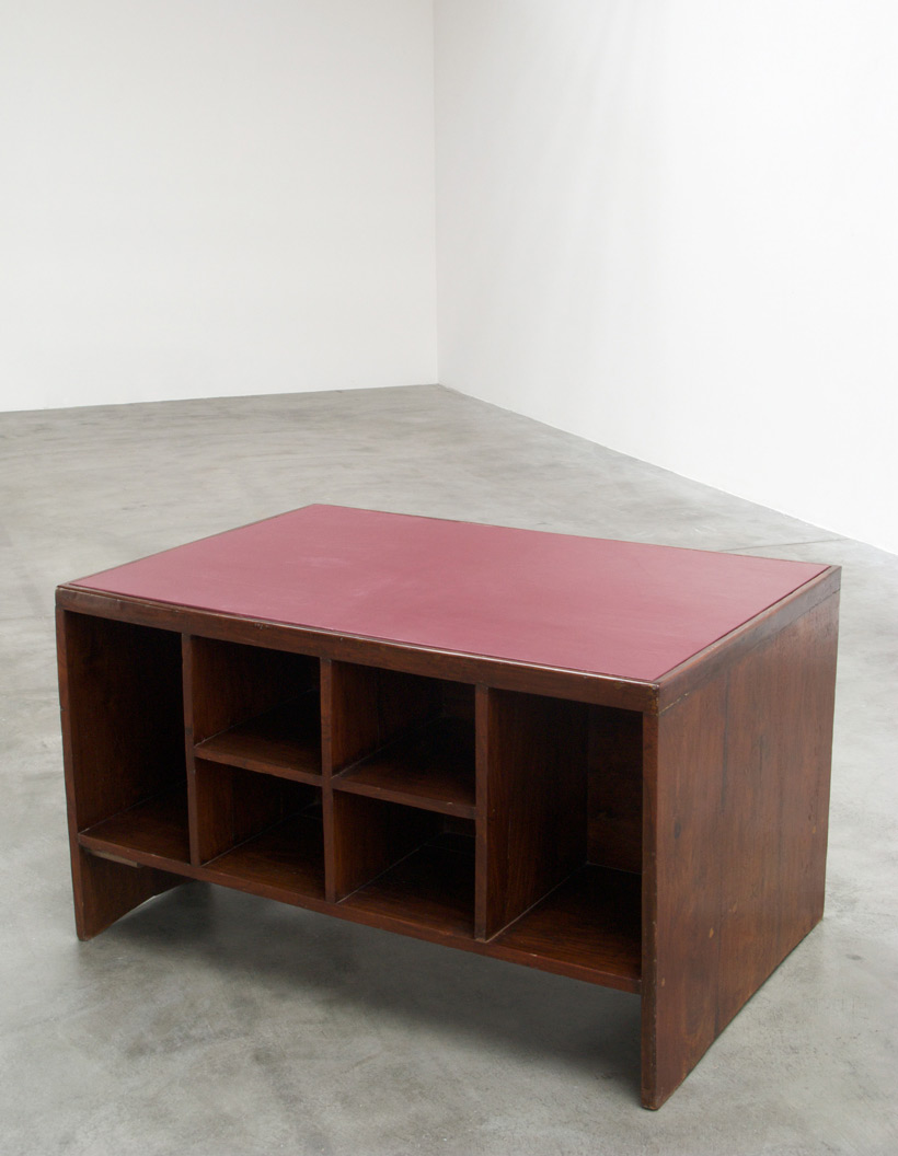 Pierre Jeanneret Office Desk with Bookcase Chandigarh India img 7