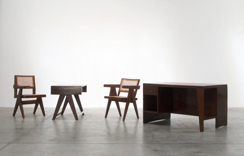 Pierre Jeanneret Student desk Chandigarh India Large