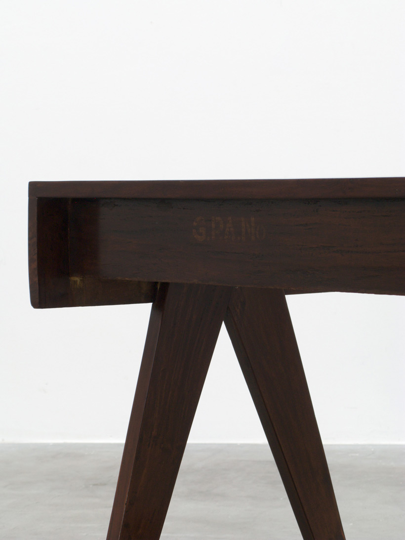 Pierre Jeanneret Student desk Chandigarh India img 6