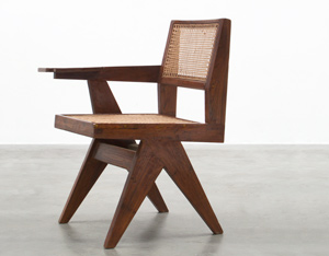 Pierre Jeanneret Writing chair Chandigarh India