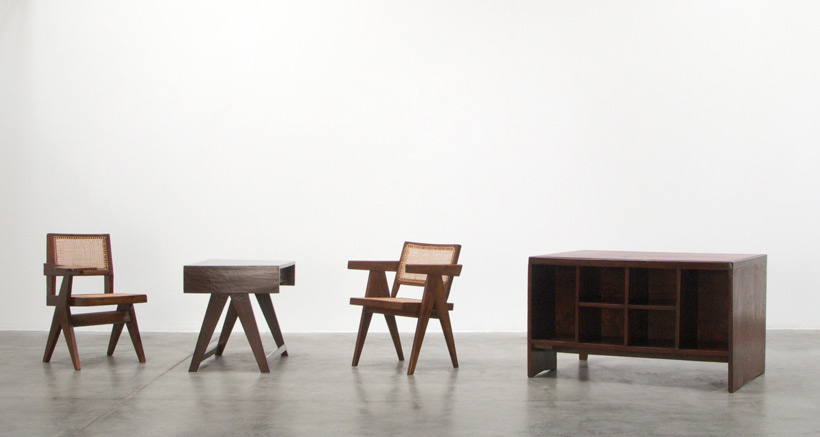 Pierre Jeanneret Writing chair Chandigarh India Large