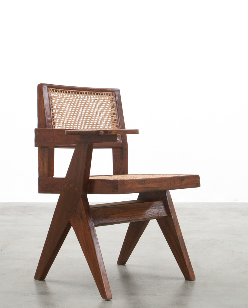 Pierre Jeanneret Writing chair Chandigarh India img 4