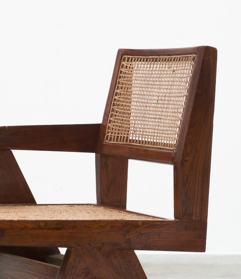 Pierre Jeanneret Writing chair Chandigarh India img 5