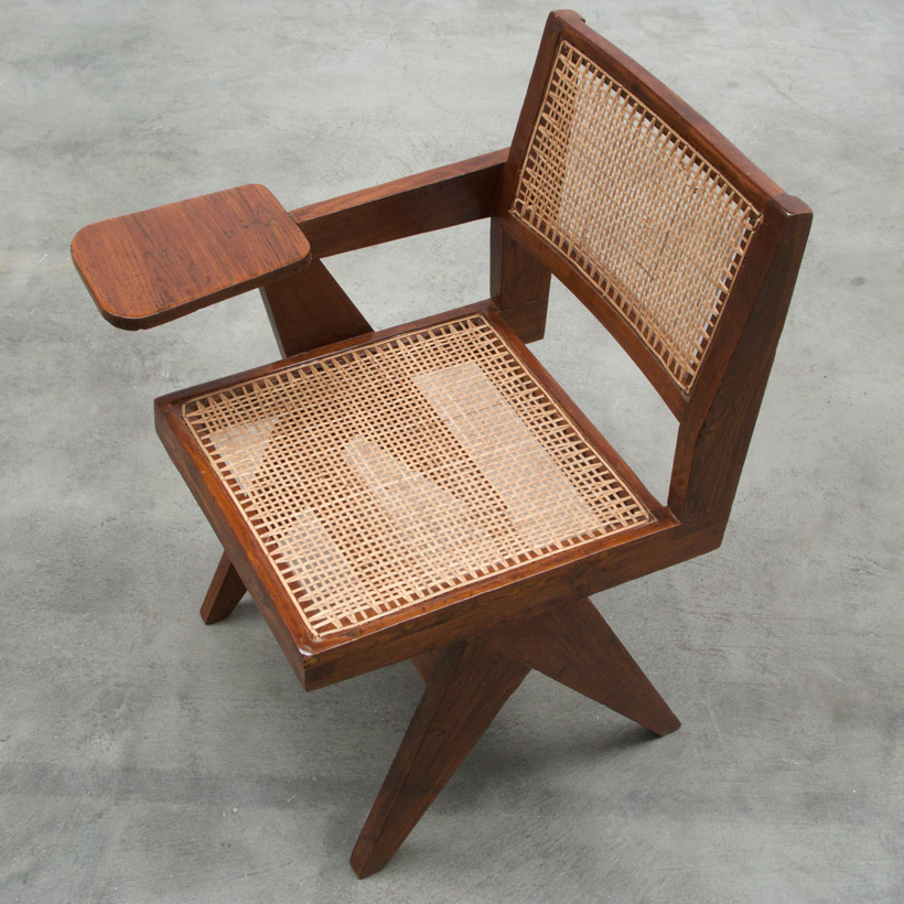 Pierre Jeanneret Writing chair Chandigarh India img 6
