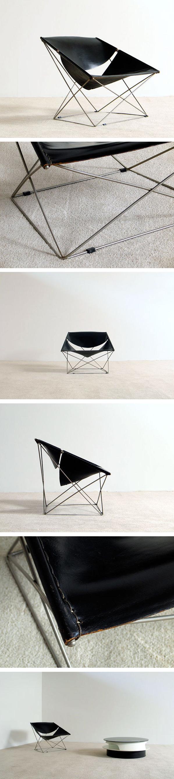 Pierre Paulin Artifort F675 Butterfly chair Large
