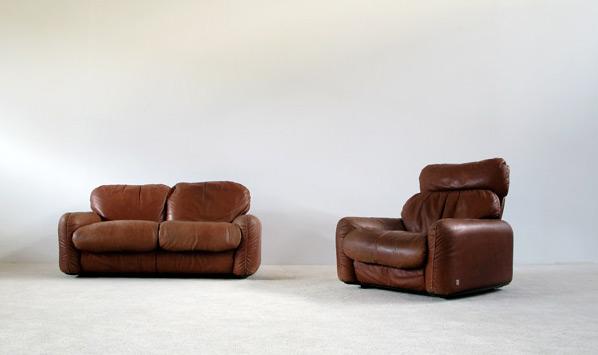 Piumotto Arrigo Arrigoni 2 1 Seat Sofa Gruppo Busnelli
