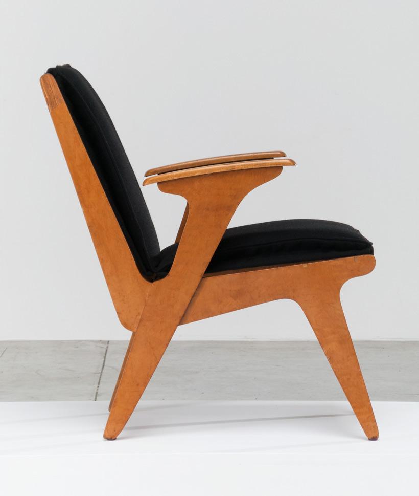 Plywood side chair Sliedrecht Spectrum