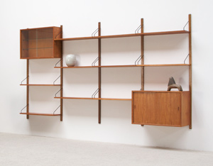 Poul Cadovius modular Wall Unit for Royal System