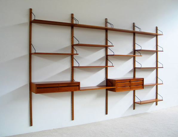 Poul Cadovius Royal System modern Wall Unit