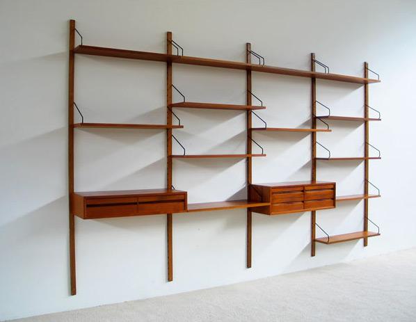 Poul Cadovius Royal System modern Wall Unit