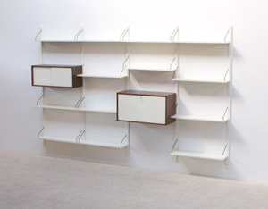 Poul Cadovius Royal System Off White Wall Unit