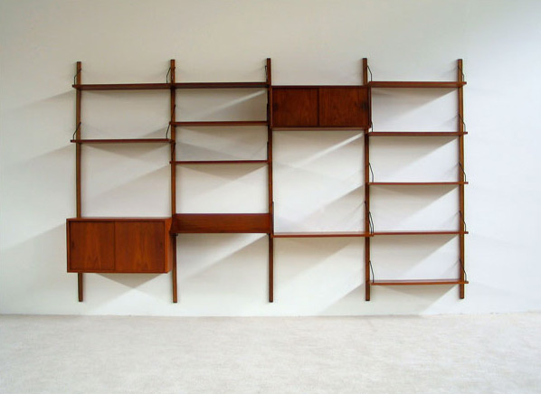 Poul Cadovius Royal System Wall Unit