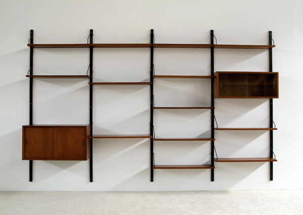 Poul Cadovius Wall Unit for Royal System