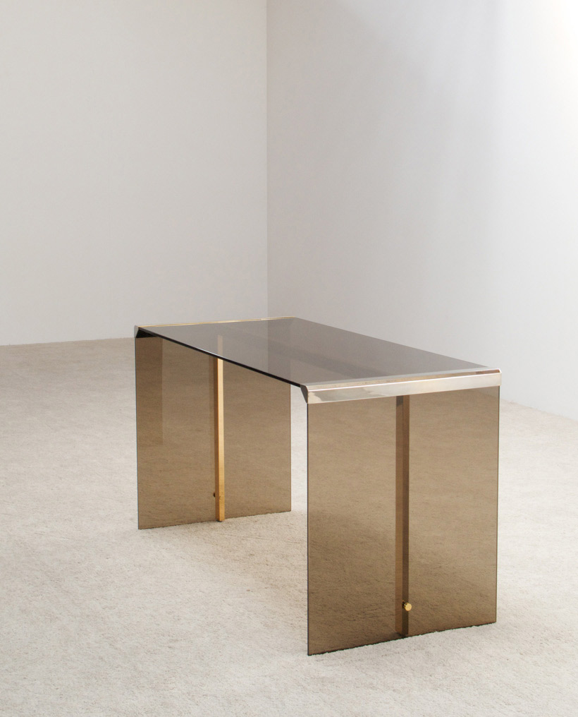President writing desk and mirrored chest