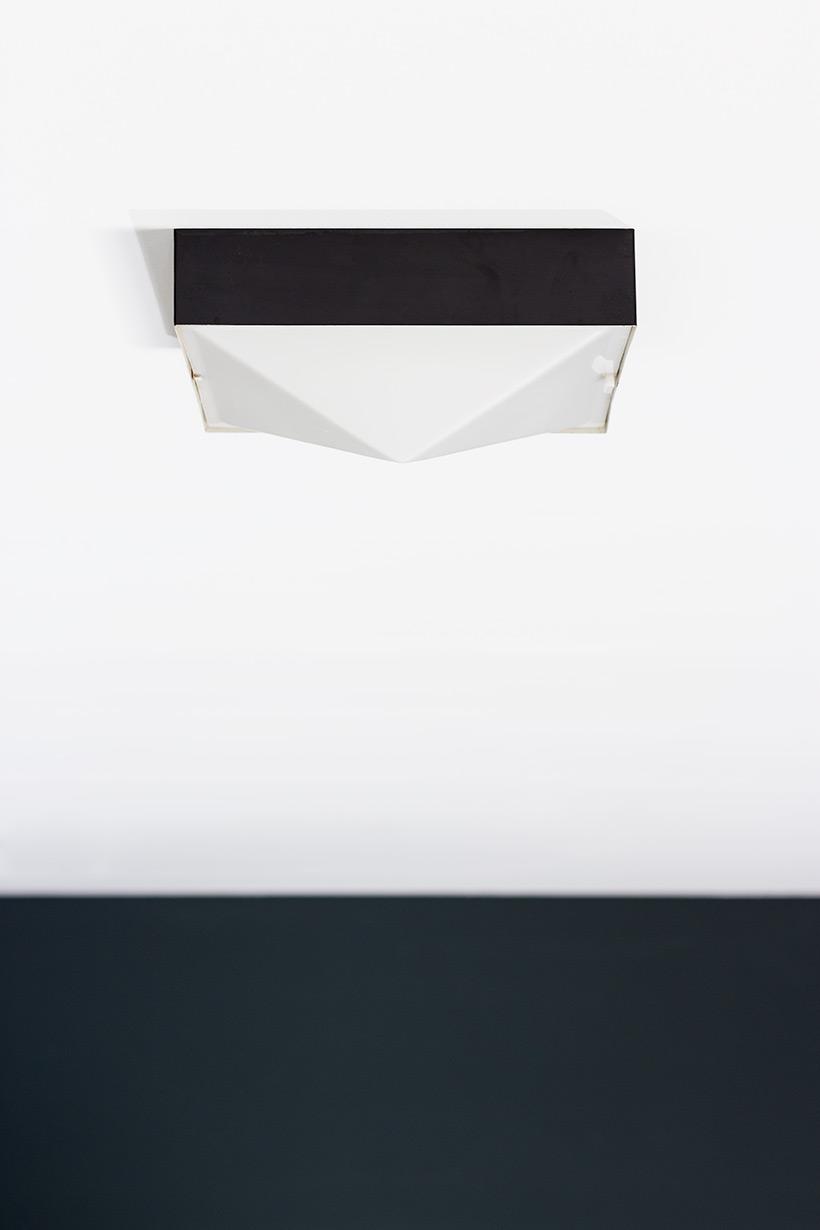 Raak Amsterdam minimalist pyramid ceiling lamp