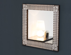 Raf Verjans modern decorative mirror circa 1970