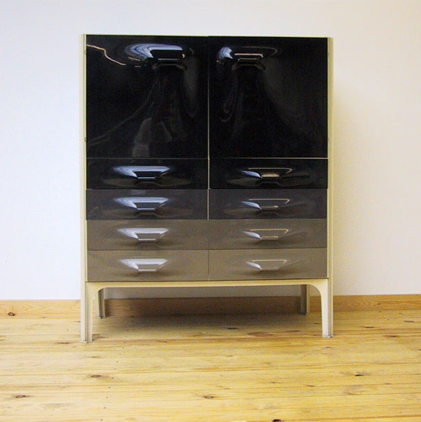 Raymond Loewy DF-2000 cabinet 1960 Modern Space Age