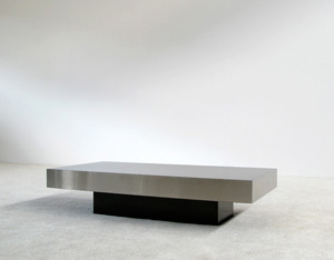 Rectangular Coffee table circa 1970 French