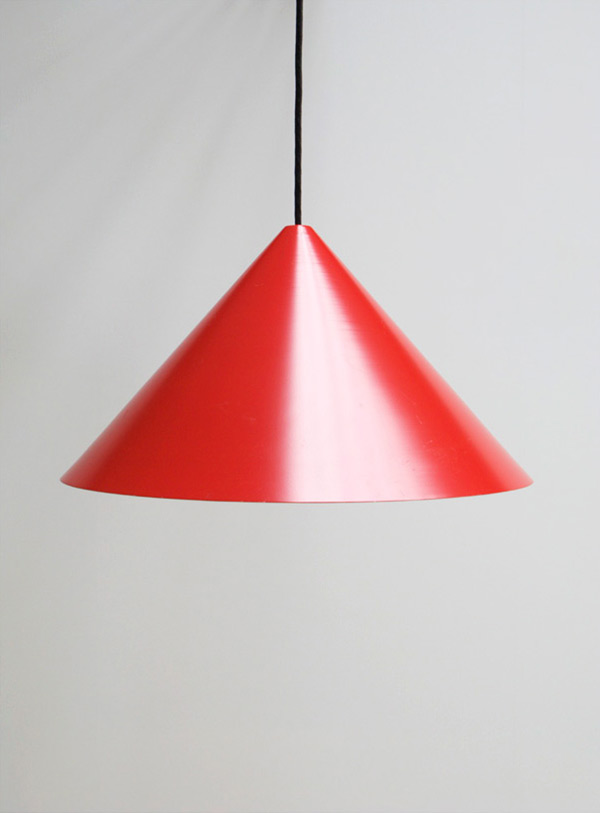 Red pendant ceiling lamp Fog and Morup