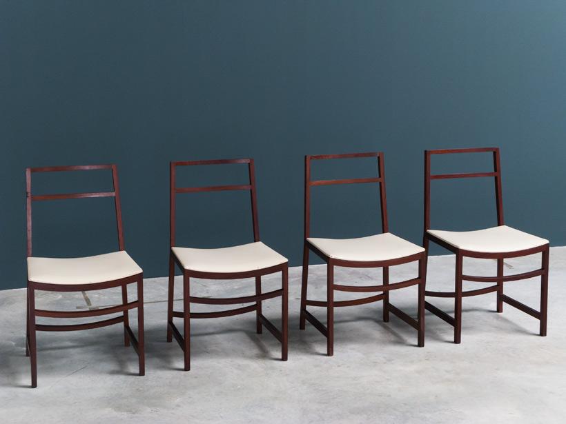 Renato Venturi 4 dinning chairs MIM