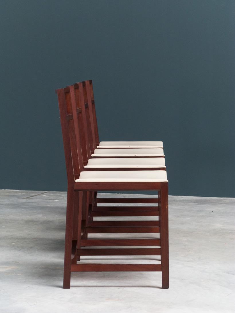 Renato Venturi 4 dinning chairs MIM img 5