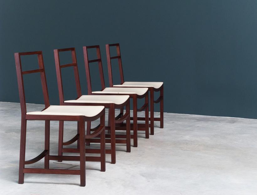 Renato Venturi 4 dinning chairs MIM img 6