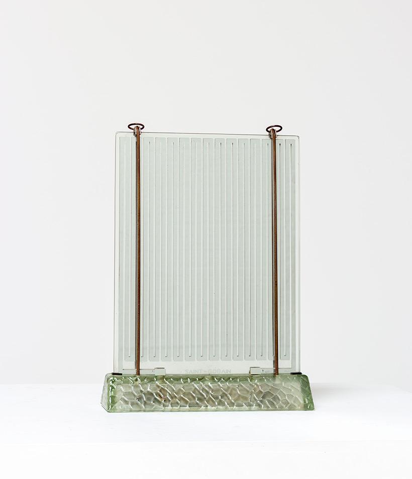Rene Coulon glass radiator model Radiaver Saint Gobain 1937 Electropolis img 3