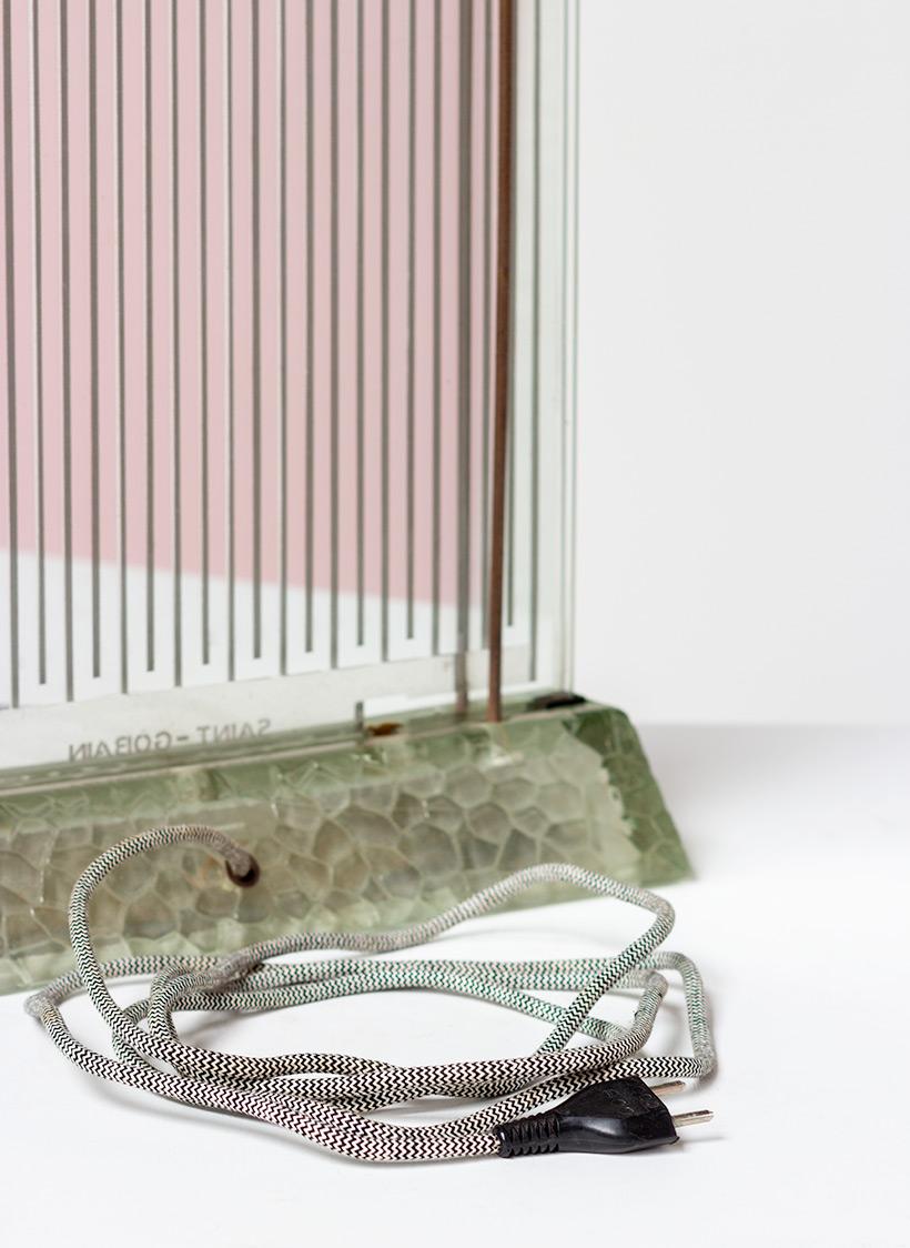 Rene Coulon glass radiator model Radiaver Saint Gobain 1937 Electropolis img 4