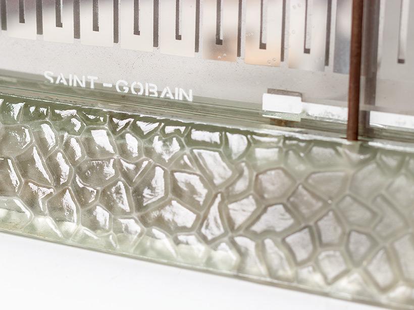 Rene Coulon glass radiator model Radiaver Saint Gobain 1937 Electropolis img 5