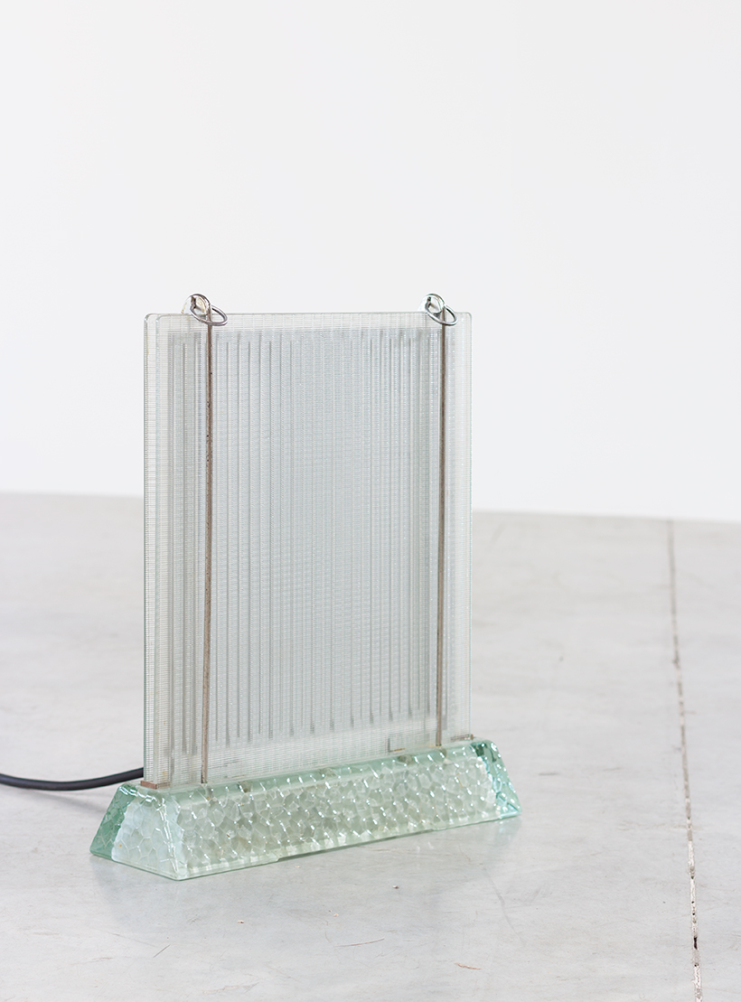 Rene Coulon glass radiator model Radiaver Saint Gobain 1937 img 3