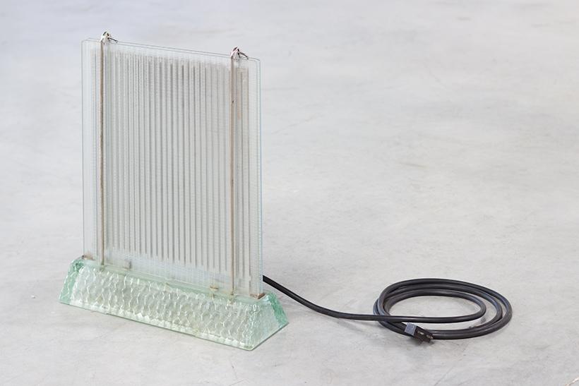 Rene Coulon glass radiator model Radiaver Saint Gobain 1937 img 7
