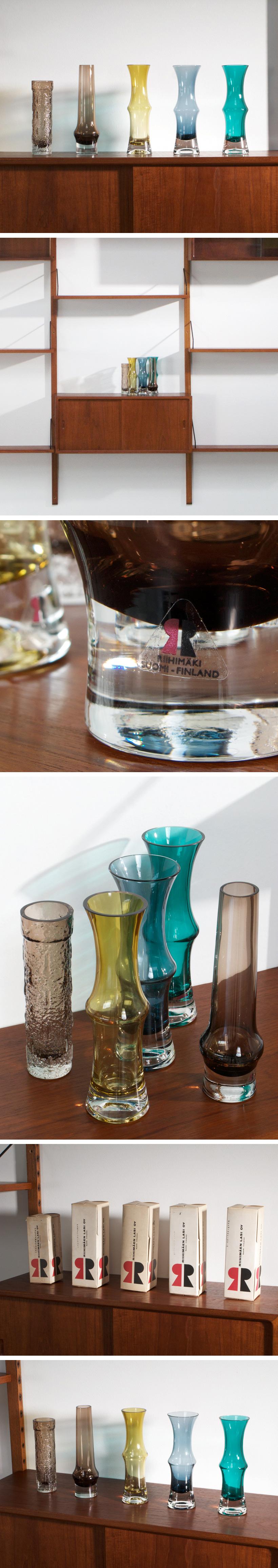 Riihimaen Riihimaki Lasi Oy 5 glass works Tamara Aladin Large