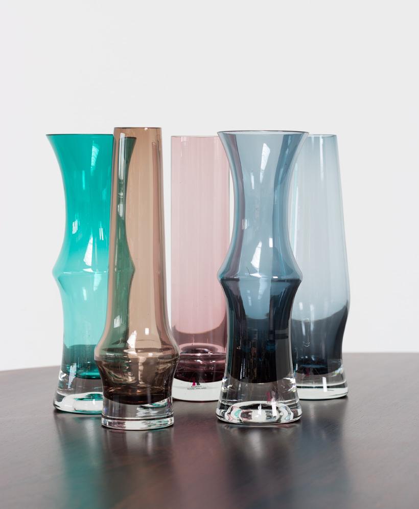 Riihimaki Riihimaen Lasi Oy Tamara Aladin 5 glass works
