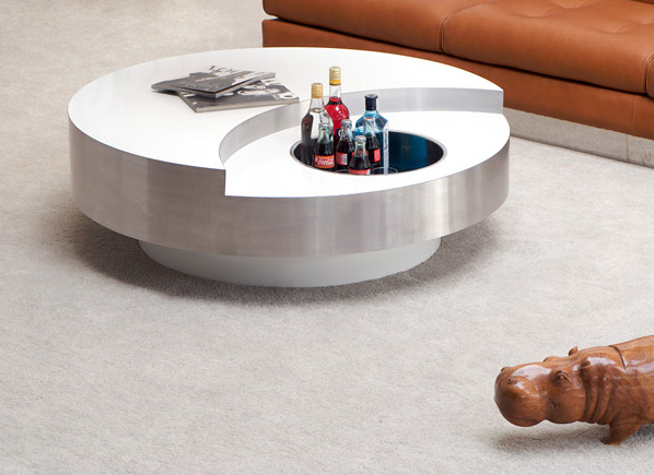 Rizzo Willy circular revolving coffee table