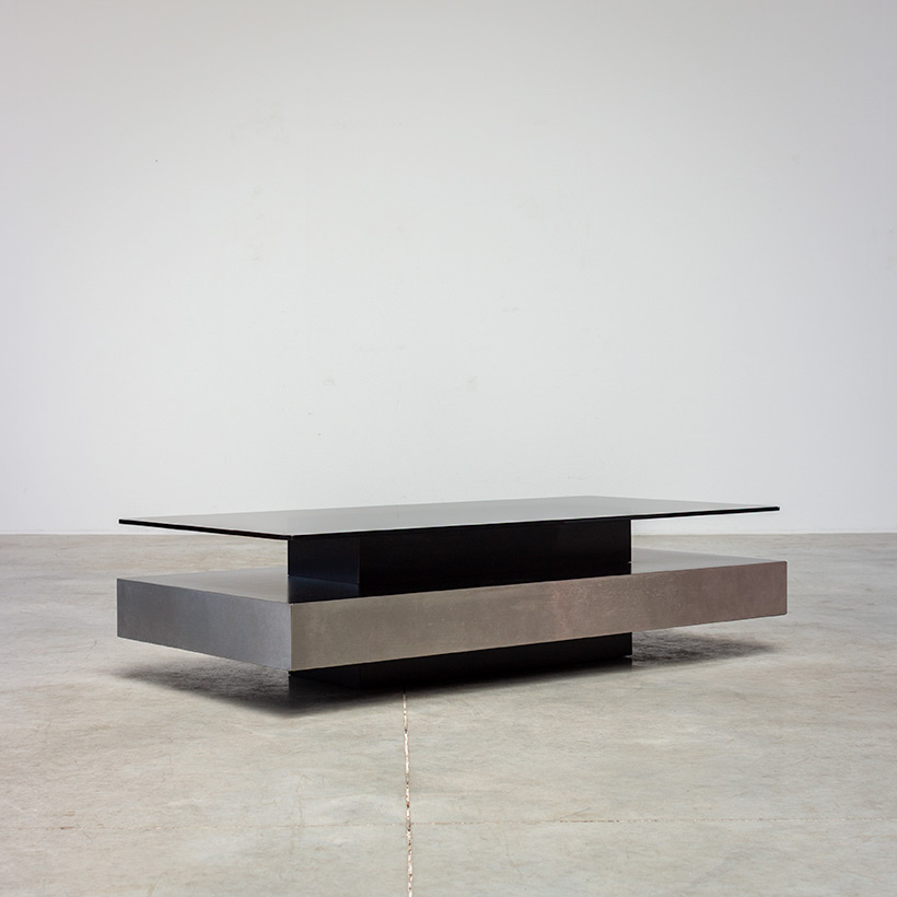 Roche Bobois two level coffee or cocktail table 1970 img 3