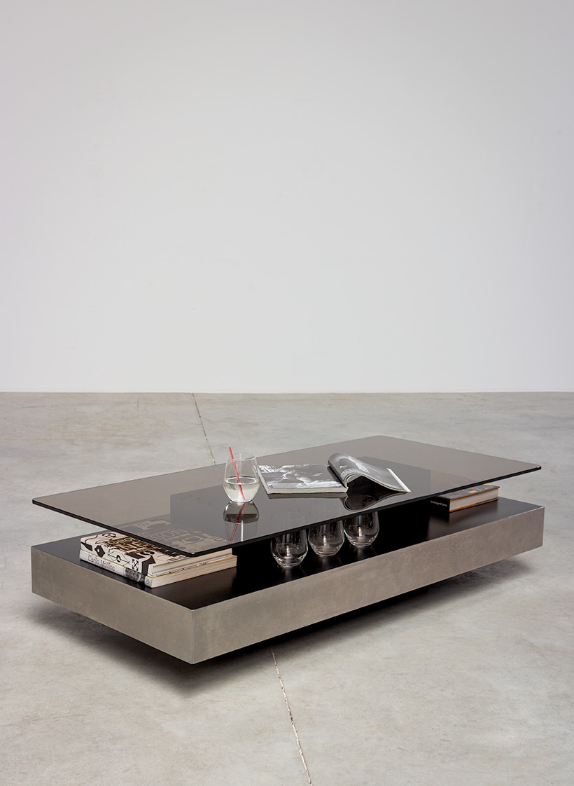 Roche Bobois two level coffee or cocktail table 1970 img 6