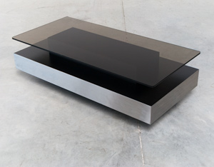 Roche Bobois two level coffee table