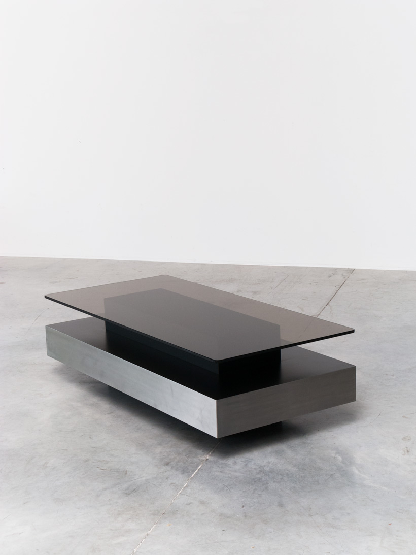 Roche bobois two level coffee table Roche bobois coffee table