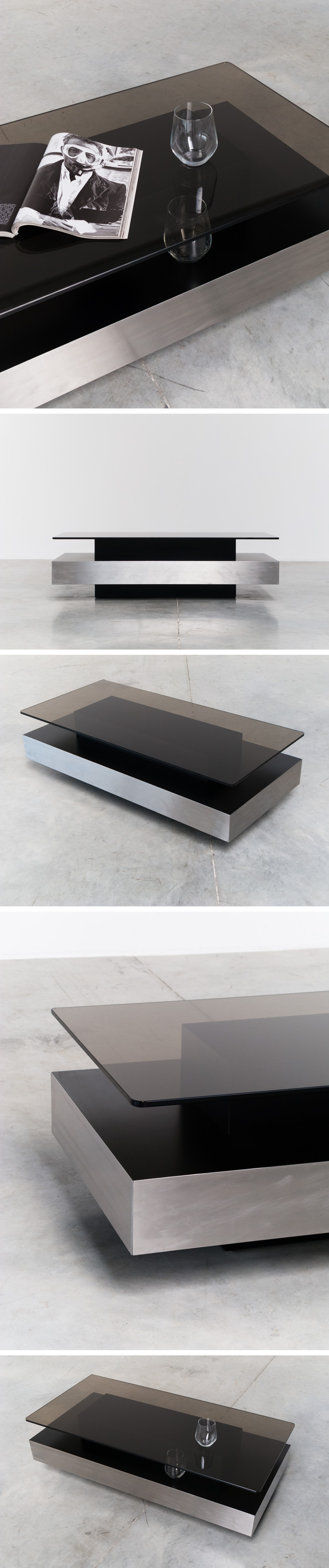 Roche Bobois two level coffee table Large