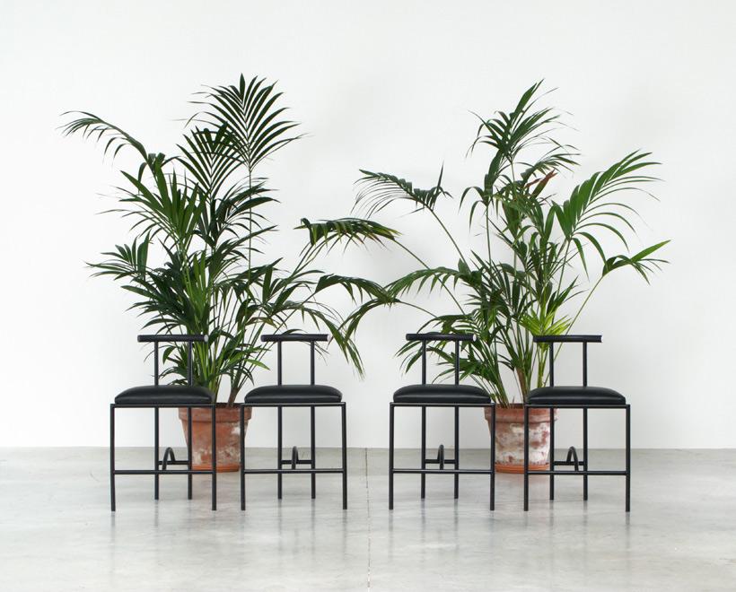 Rodney Kinsman 4 Tokyo dinning chairs