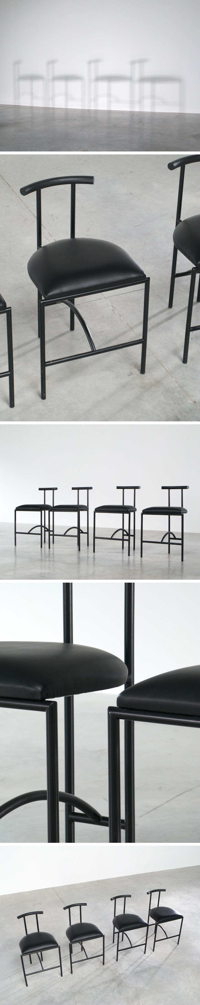 Rodney Kinsman 4 Tokyo dinning chairs Large