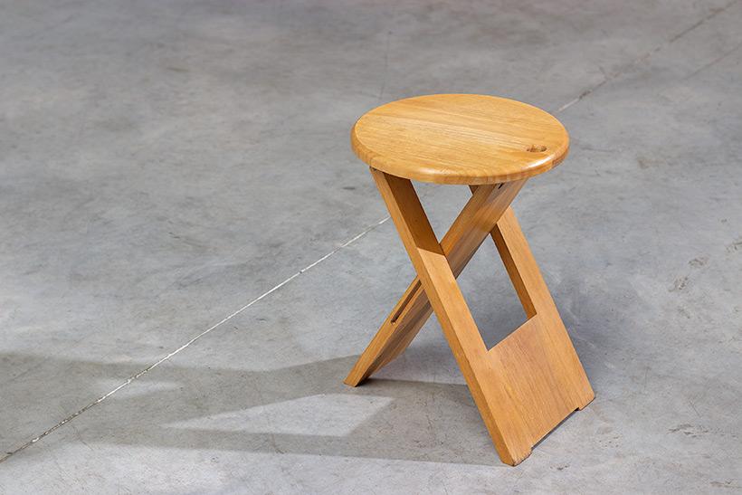 Roger Tallon TS foldable stool Sentou 1970 France img 6