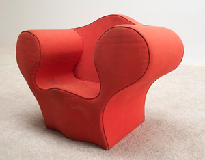 Ron Arad Big Soft Easy children chair Moroso